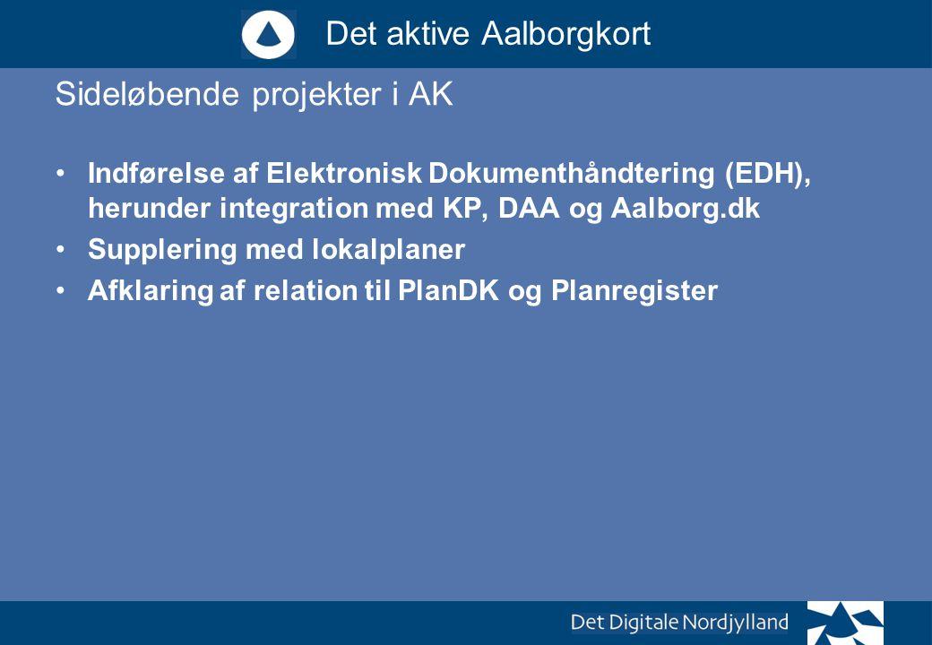 Sideløbende projekter i AK