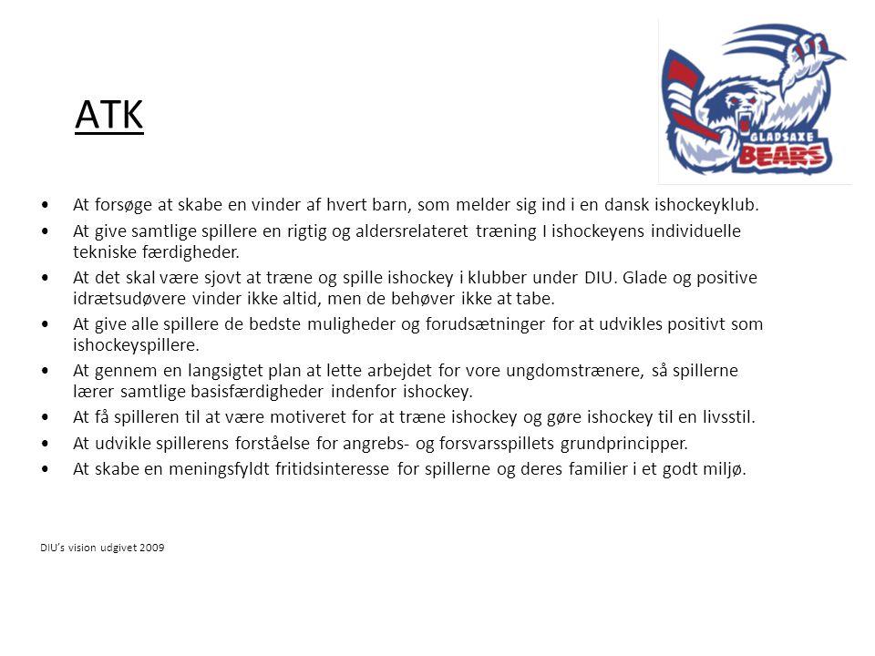 ATK At forsøge at skabe en vinder af hvert barn, som melder sig ind i en dansk ishockeyklub.