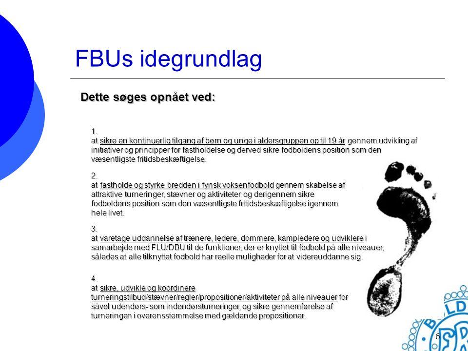 FBUs idegrundlag Dette søges opnået ved: