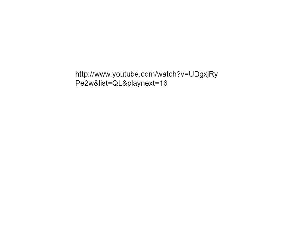 http://www.youtube.com/watch v=UDgxjRyPe2w&list=QL&playnext=16