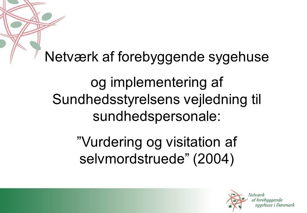 Netværk af forebyggende sygehuse