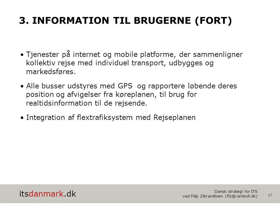 3. Information til brugerne (Fort)