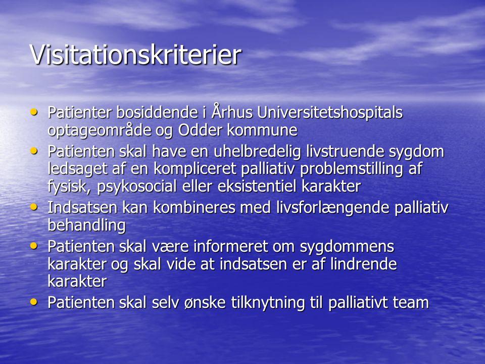 Visitationskriterier