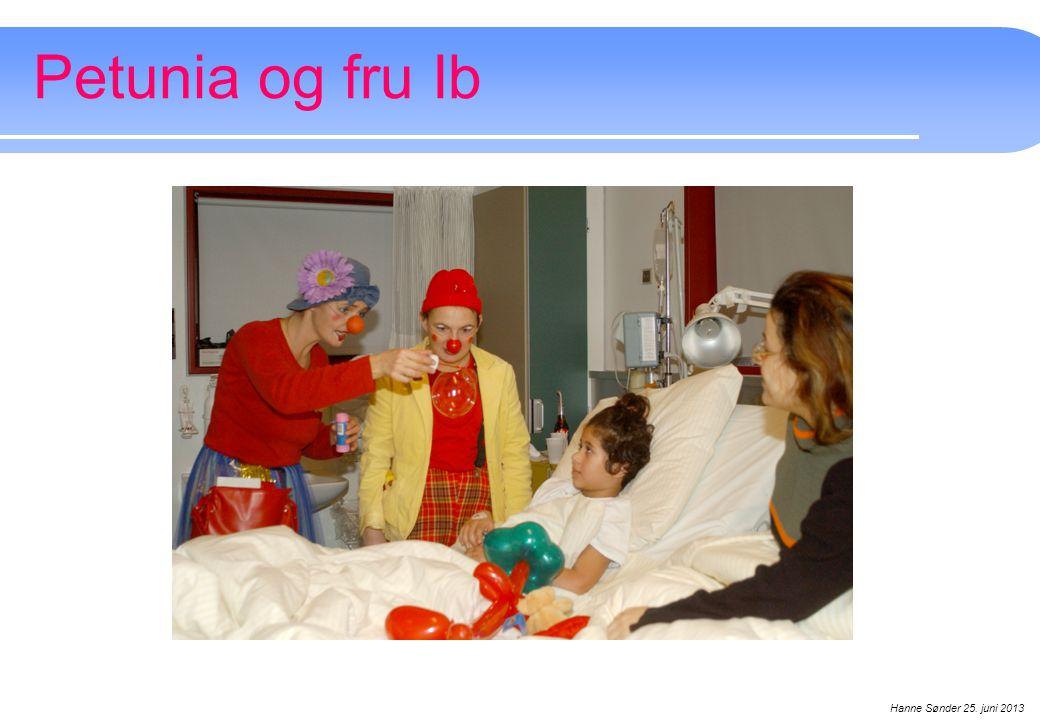 Petunia og fru Ib Hanne Sønder 25. juni 2013