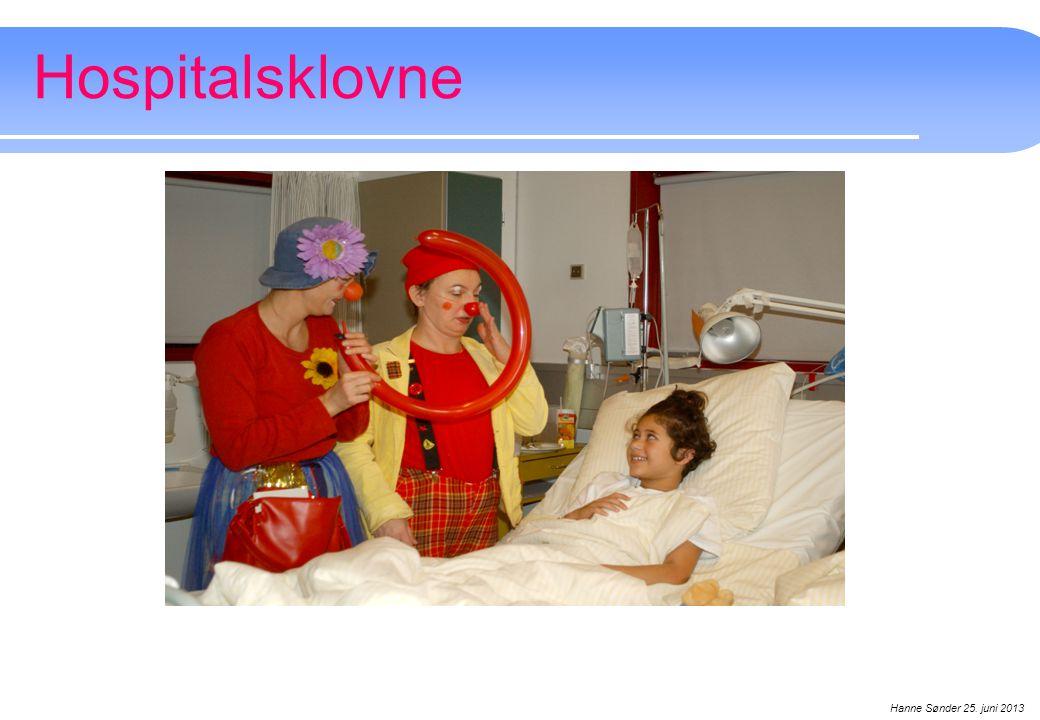 Hospitalsklovne Hanne Sønder 25. juni 2013 Hanne Sønder september 2008