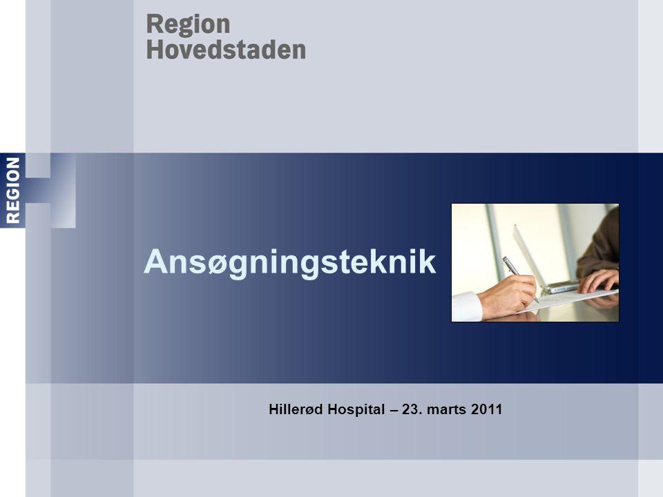 Hillerød Hospital – 23. marts 2011