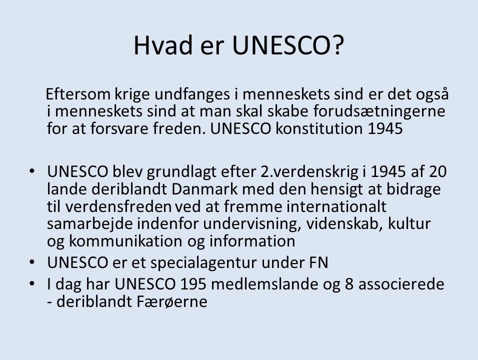 Hvad er UNESCO