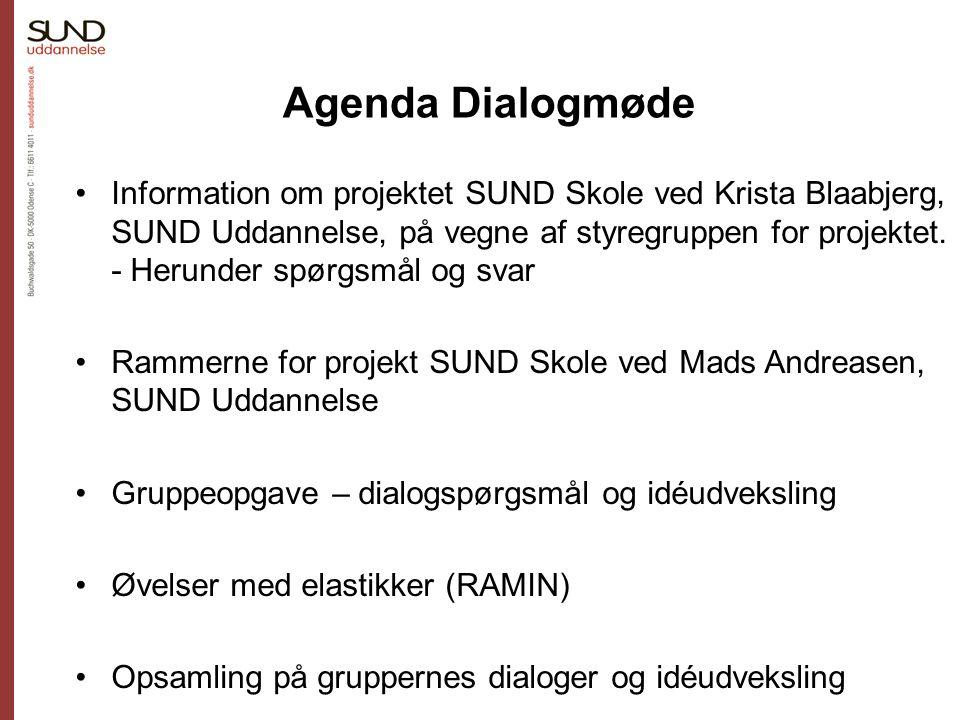 Agenda Dialogmøde