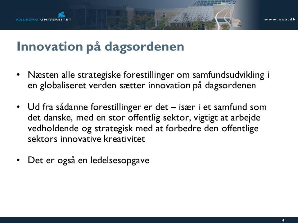 Innovation på dagsordenen