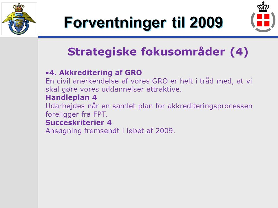 Strategiske fokusområder (4)