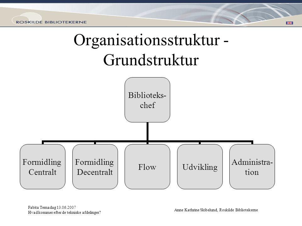 Organisationsstruktur - Grundstruktur