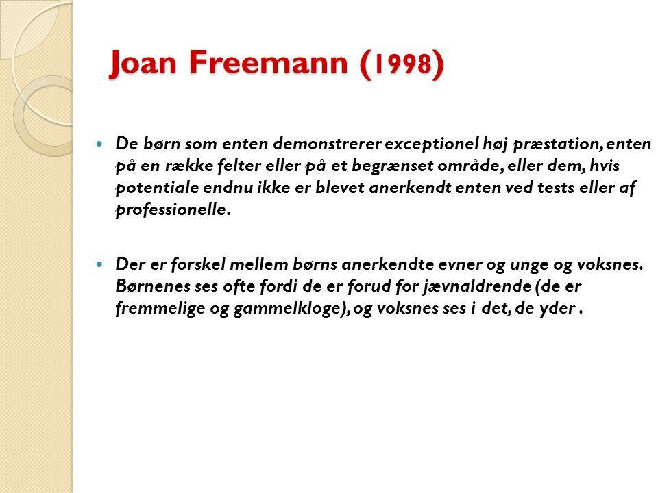 Joan Freemann (1998)