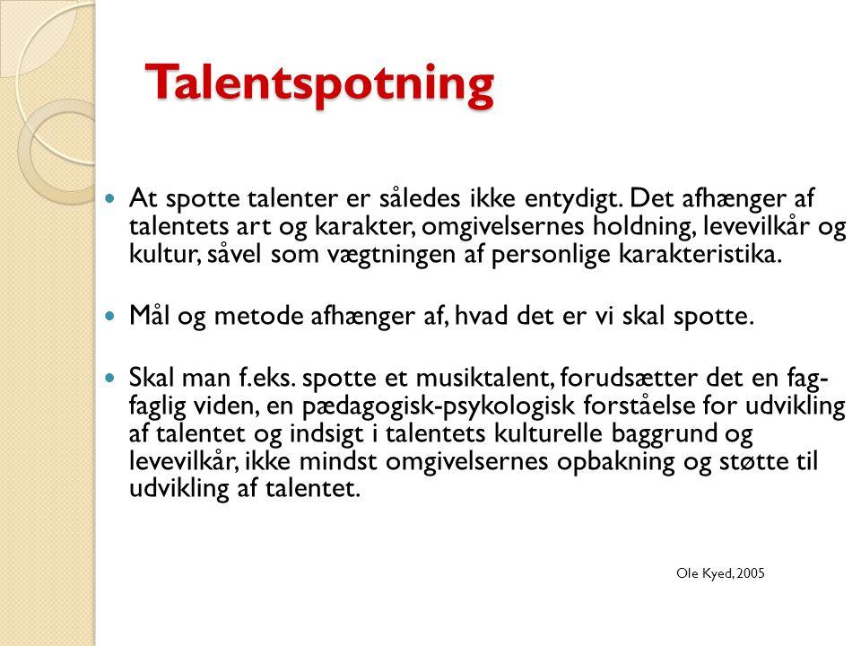 Talentspotning
