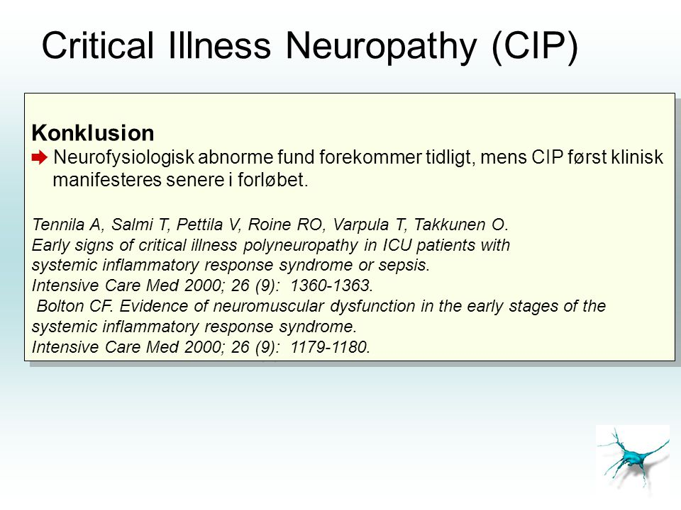 Critical Illness Neuropathy (CIP)