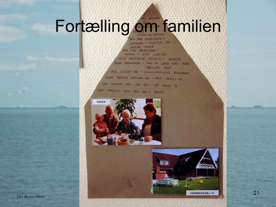Fortælling om familien