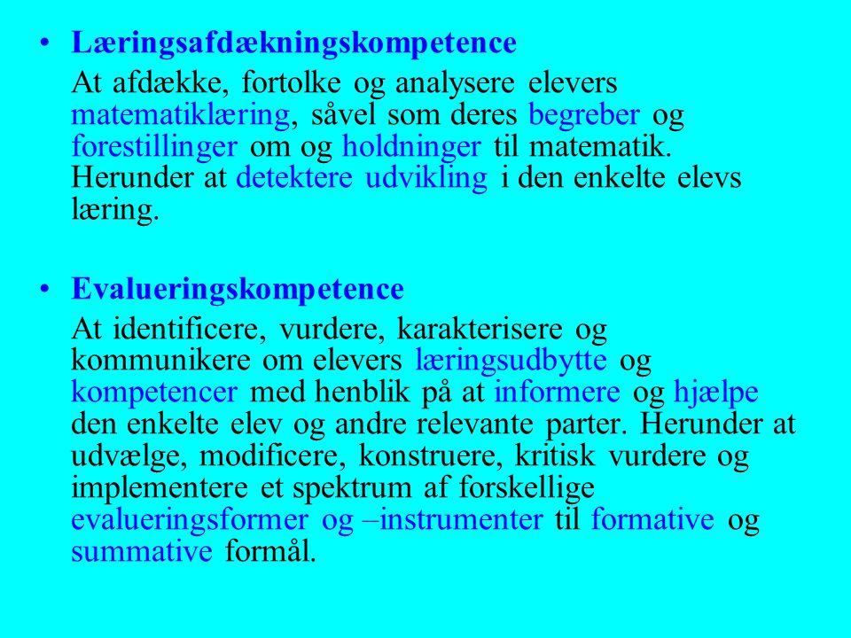 Læringsafdækningskompetence