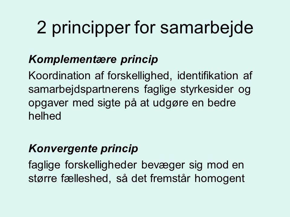2 principper for samarbejde
