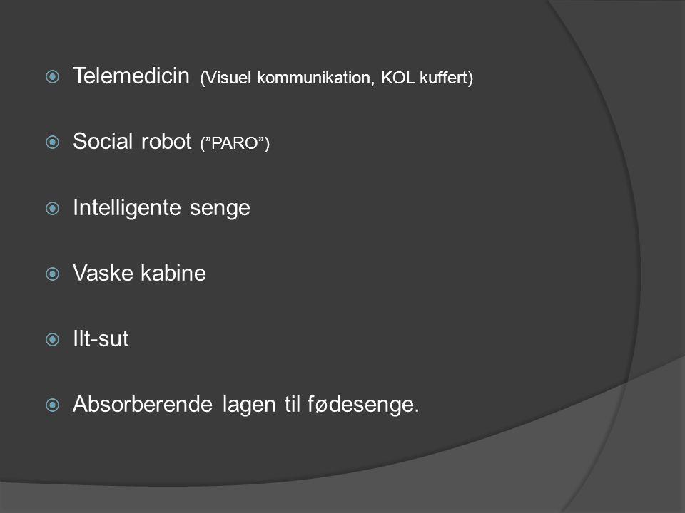 Telemedicin (Visuel kommunikation, KOL kuffert)