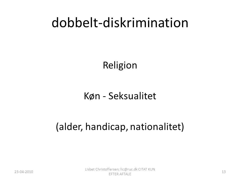 dobbelt-diskrimination