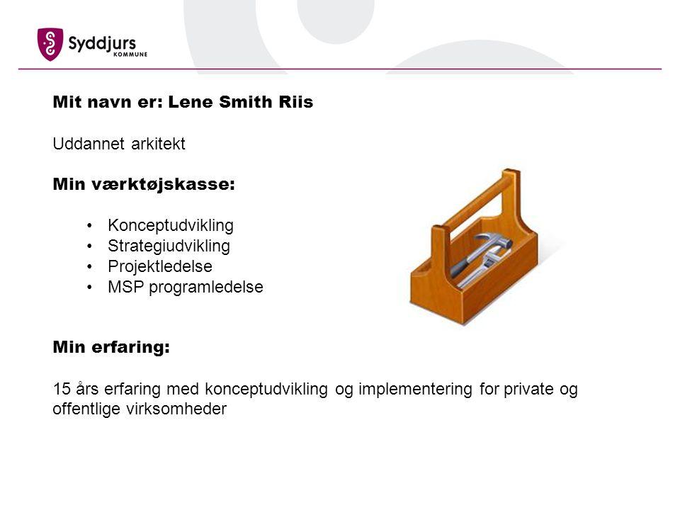 Mit navn er: Lene Smith Riis