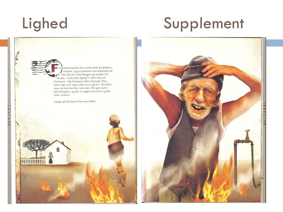 Lighed Supplement Tekstens indhold ligner billedets. Garmann løber efter hjælp.