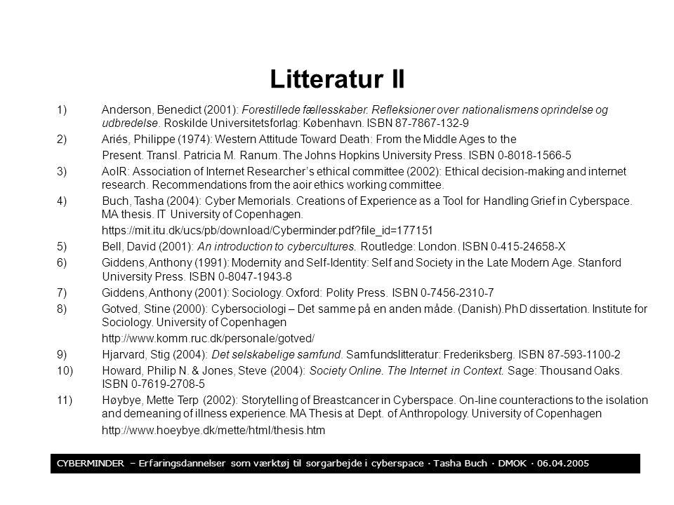 Litteratur II
