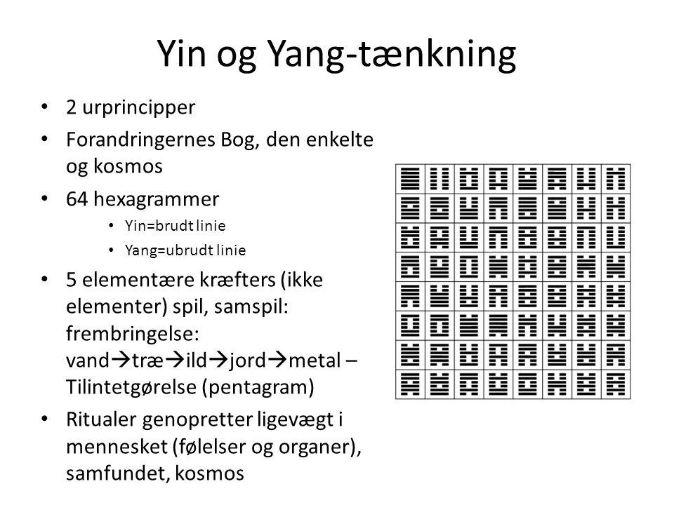 Yin og Yang-tænkning 2 urprincipper