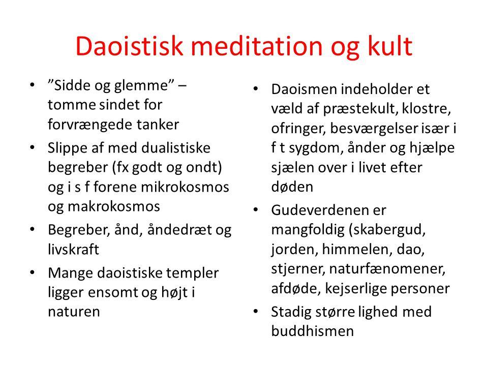 Daoistisk meditation og kult
