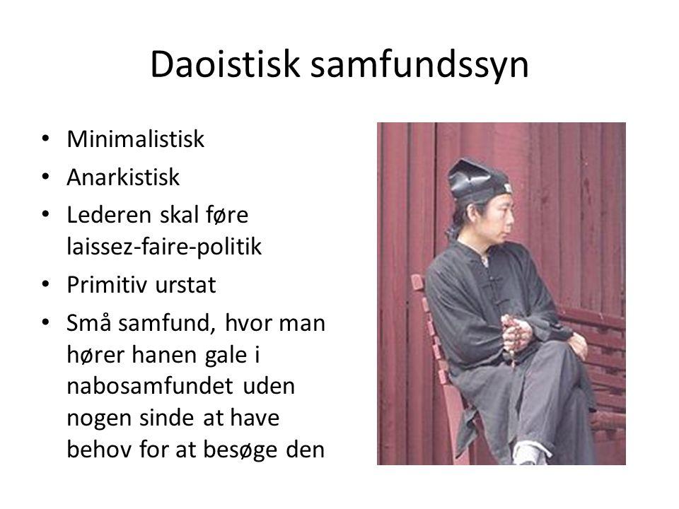 Daoistisk samfundssyn
