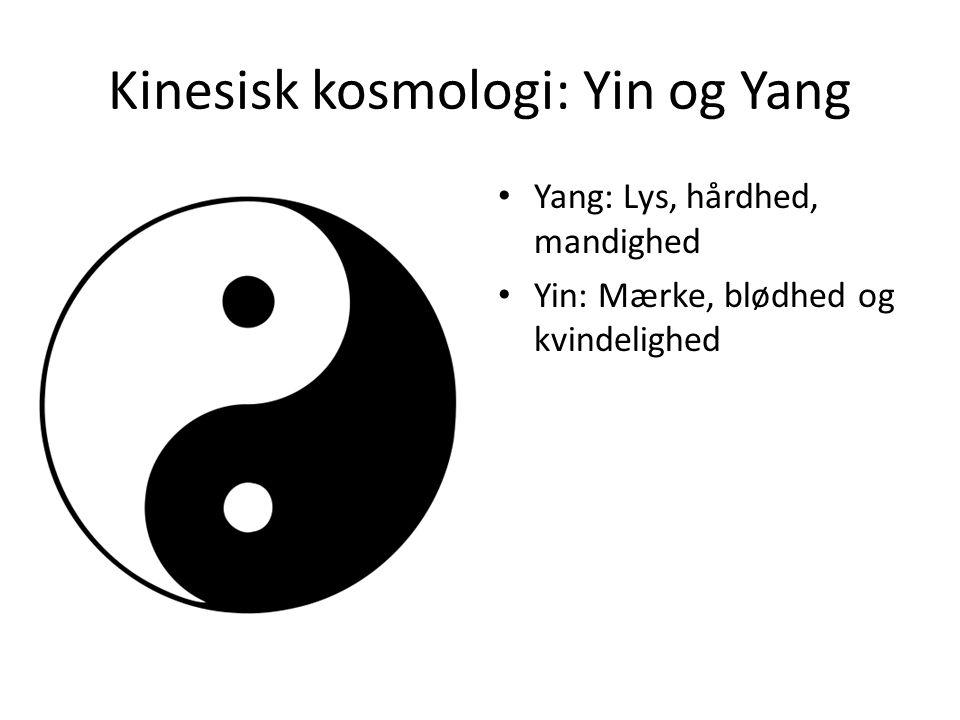 Kinesisk kosmologi: Yin og Yang