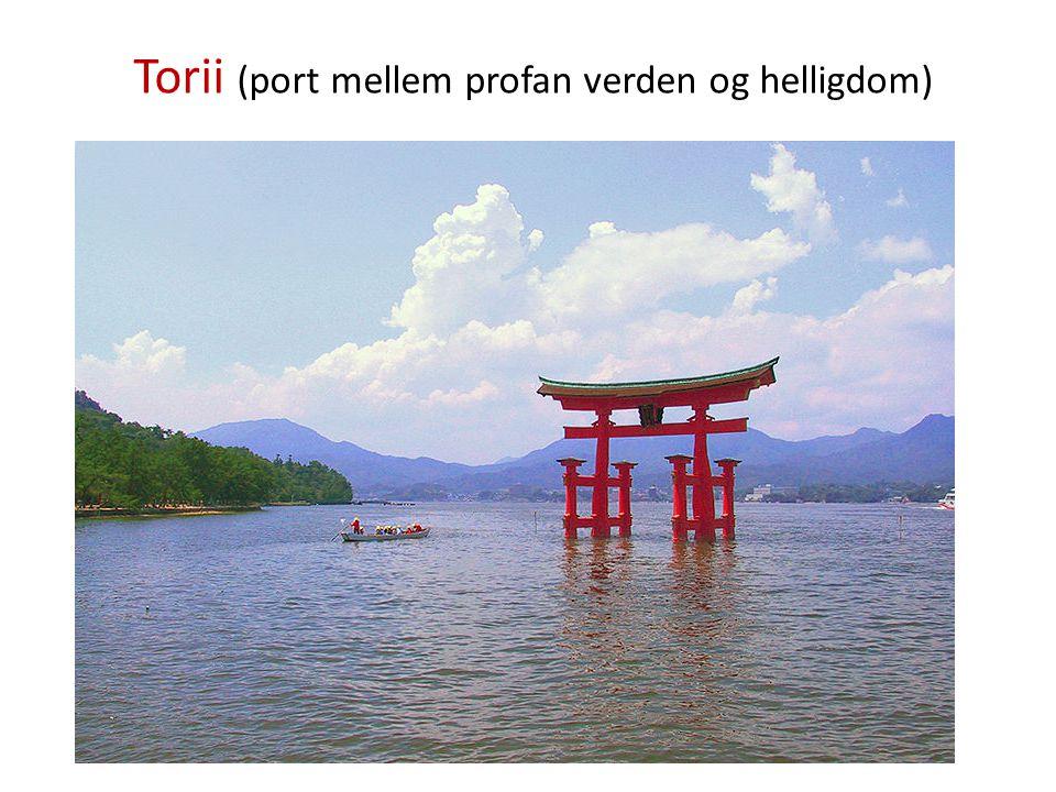 Torii (port mellem profan verden og helligdom)