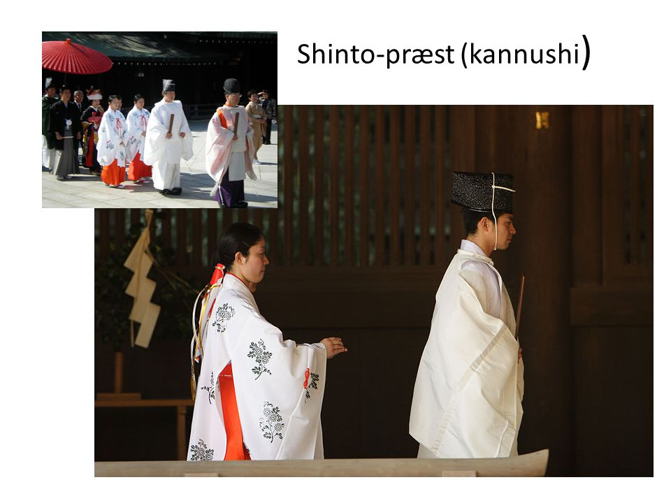 Shinto-præst (kannushi)