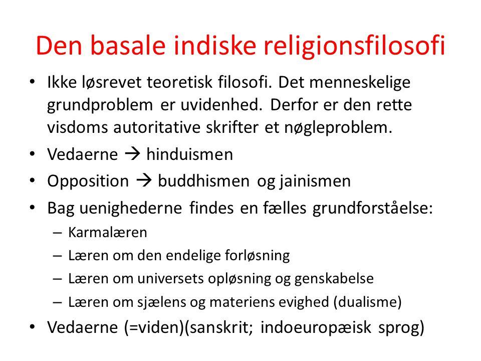 Den basale indiske religionsfilosofi