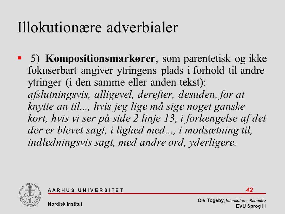 Illokutionære adverbialer