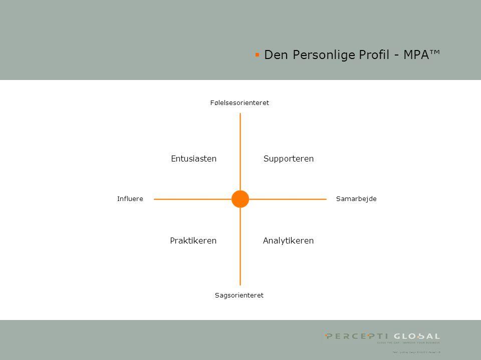 Den Personlige Profil - MPA™