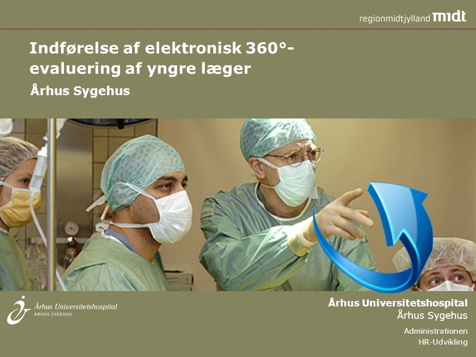 Indførelse af elektronisk 360°- evaluering af yngre læger