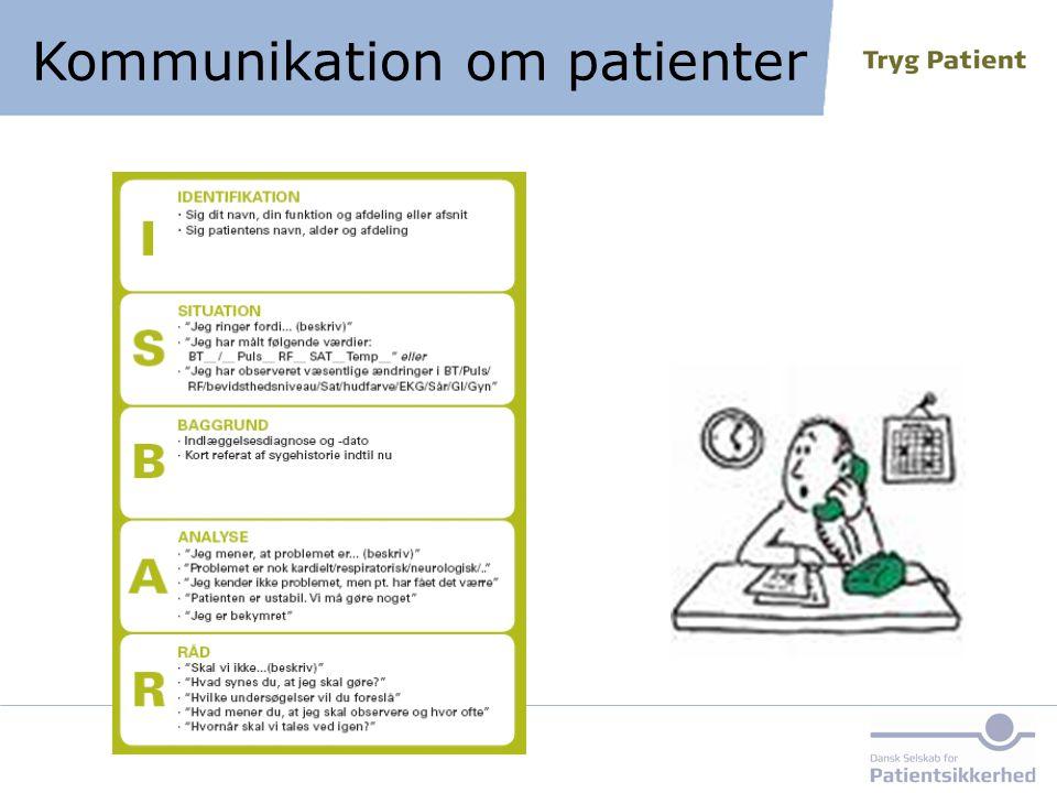Kommunikation om patienter