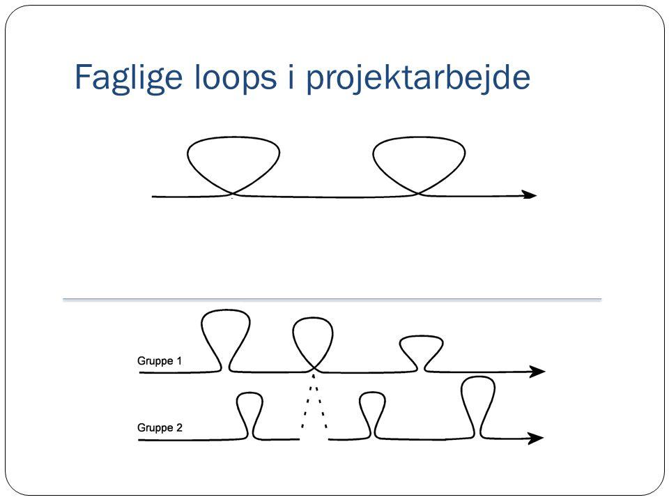 Faglige loops i projektarbejde