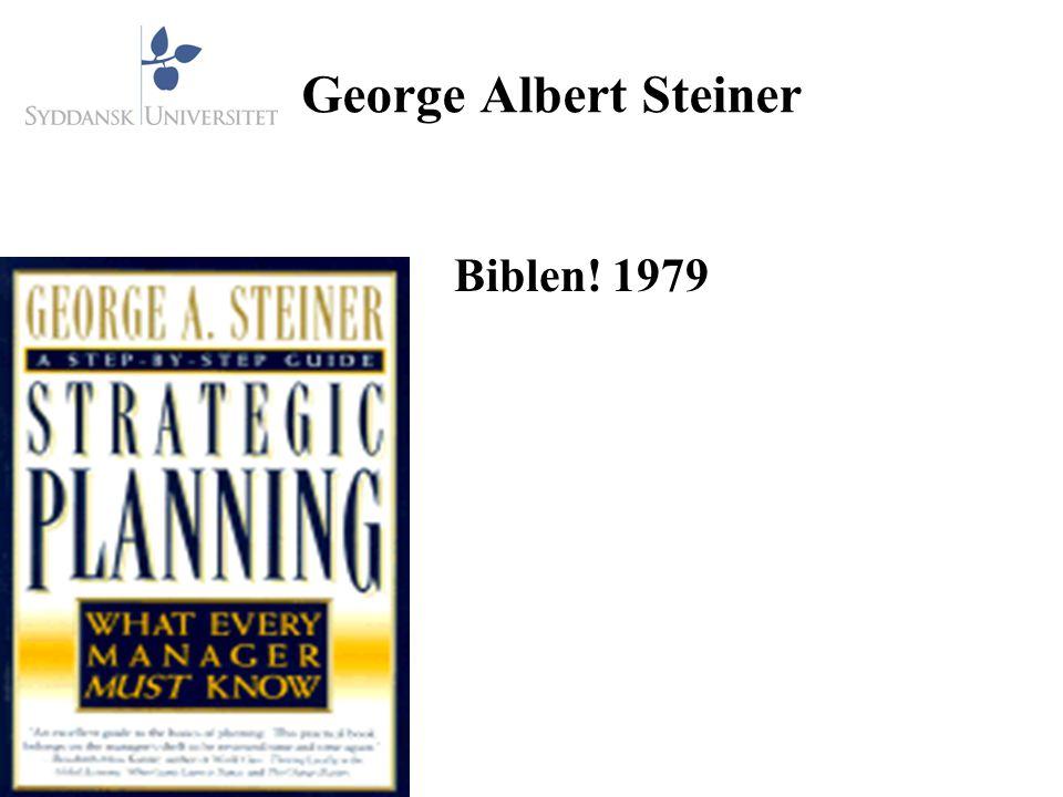 George Albert Steiner Biblen! 1979