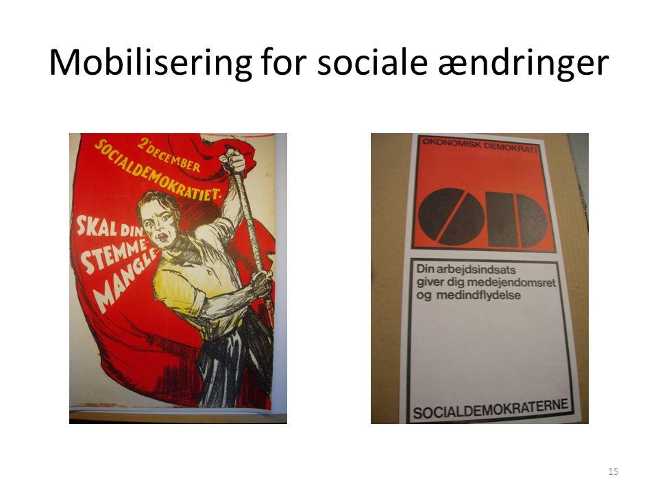 Mobilisering for sociale ændringer