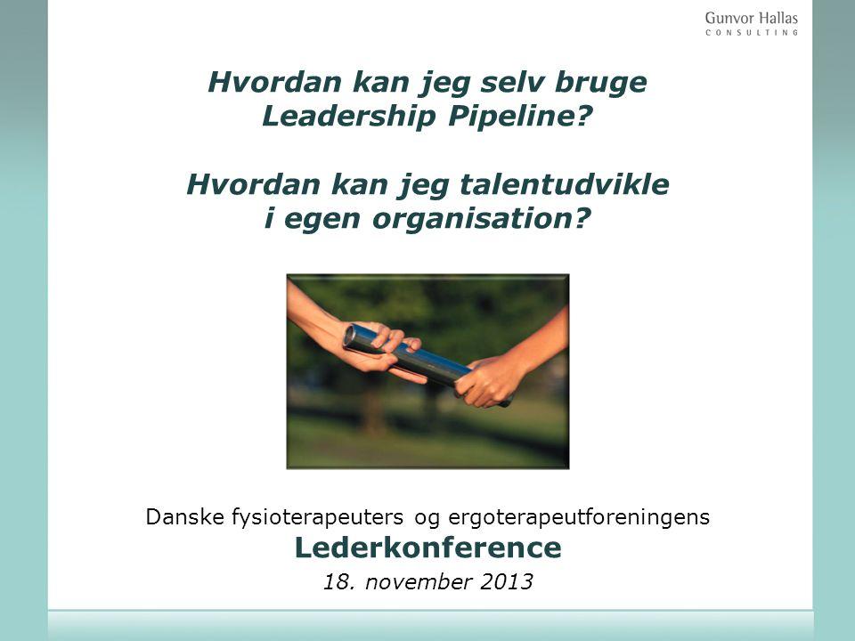Danske fysioterapeuters og ergoterapeutforeningens Lederkonference