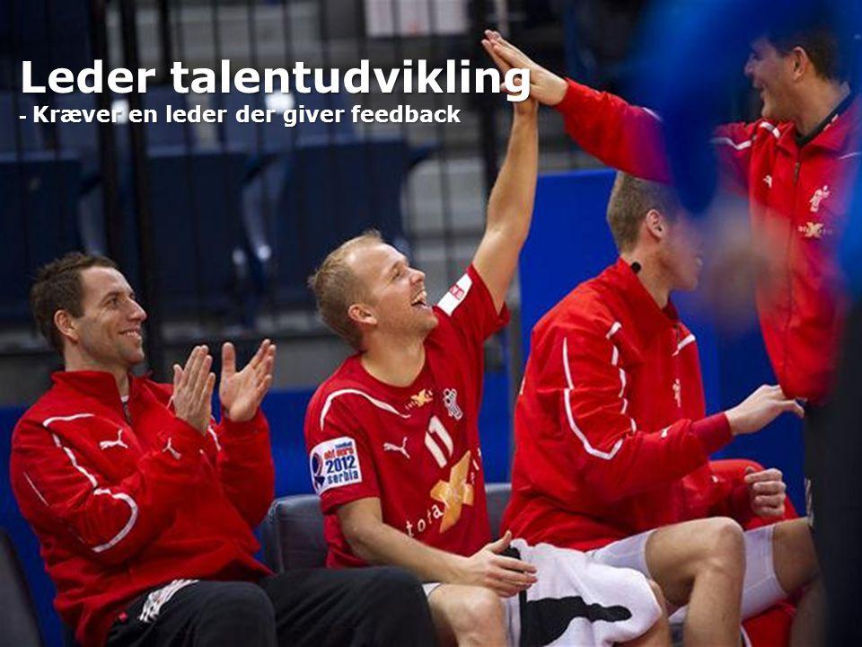 Leder talentudvikling