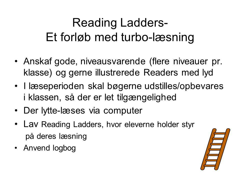 Reading Ladders- Et forløb med turbo-læsning