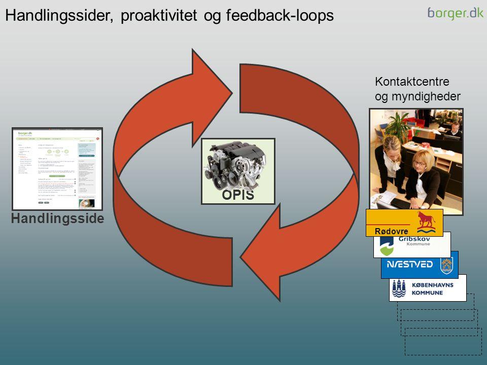 Handlingssider, proaktivitet og feedback-loops