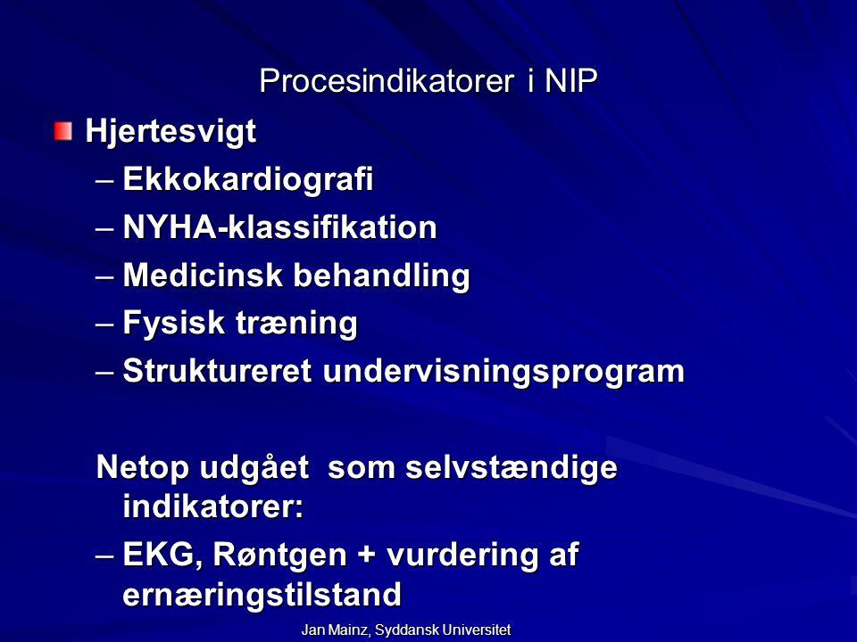 Procesindikatorer i NIP