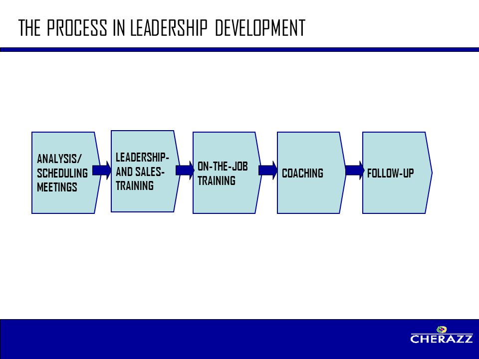 THE PROCESS IN LEADERSHIP DEVELOPMENT