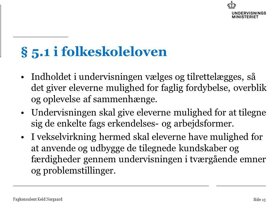 § 5.1 i folkeskoleloven