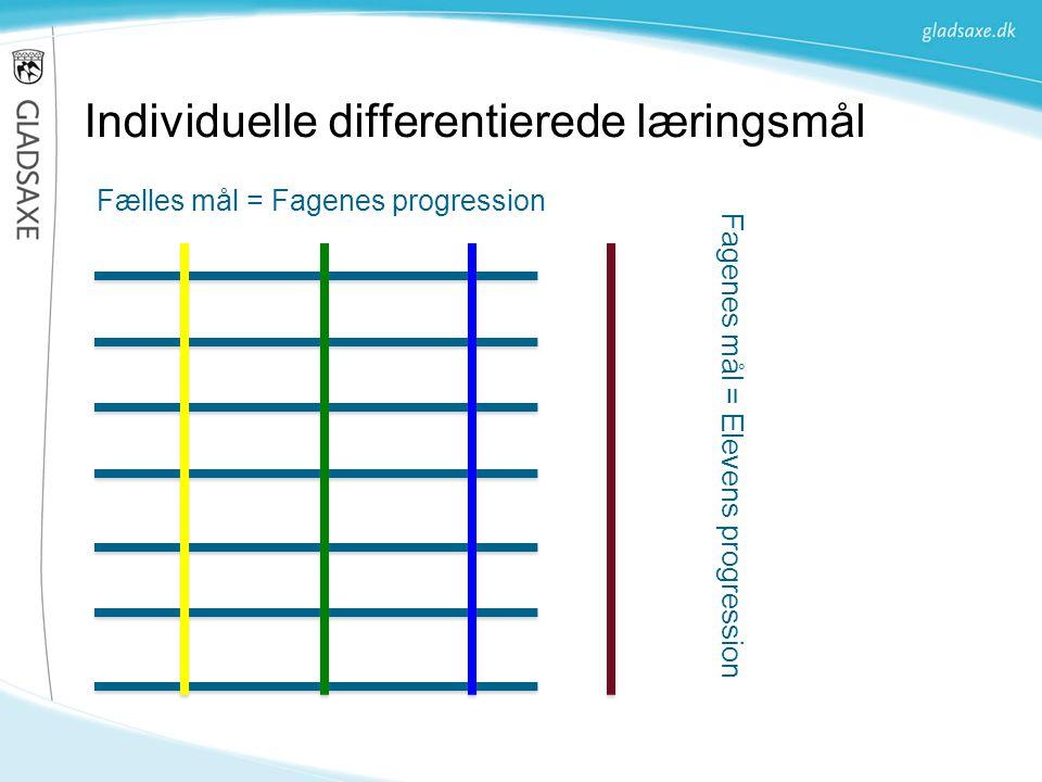 Individuelle differentierede læringsmål
