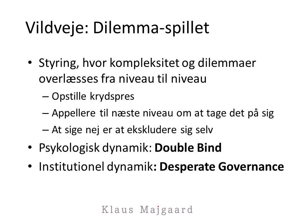 Vildveje: Dilemma-spillet