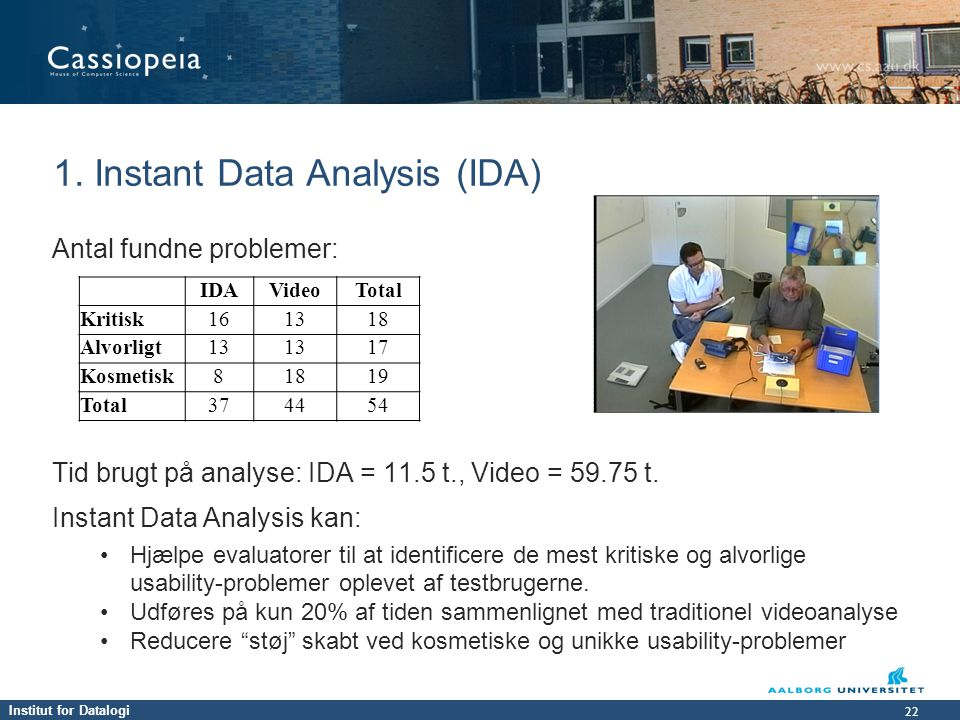 1. Instant Data Analysis (IDA)